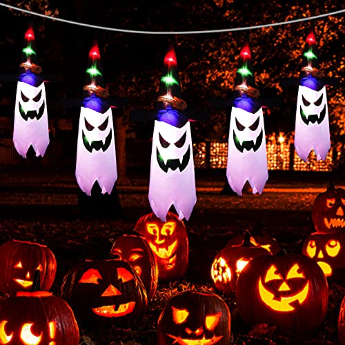 OULONGER Halloween Decorations Outdoor String Lights 7FT(5Pcs) Only $11.99 (Retail $20.99)