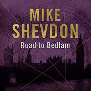 The Road to Bedlam audiobook cover art