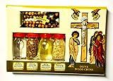 SpringNahal - Kit de bendición de botellas y cruz de la Tierra Santa Jerusalén