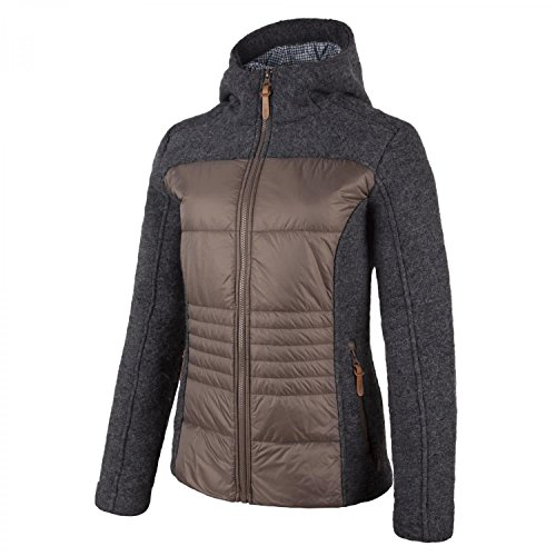 CMP Damen Fleece Wolljacke, Carbone (U905), 42