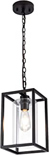 MAYNA Industrial Retro Pendant Lighting Iron Chandelier...