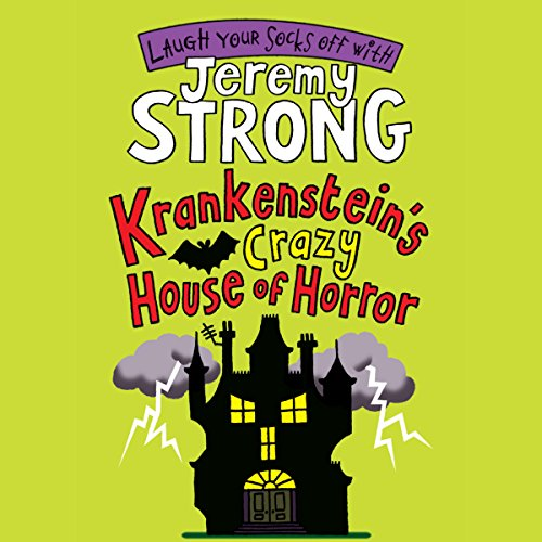 Krankenstein's Crazy House of Horror audiobook cover art