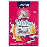 VITAKRAFT Snack per Gatto Milky Melody al Formaggio confezione da 70 Gr 7 Pezzi