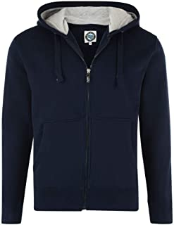 Kam Poly Cotton Full Zip Hooded Sweat Shirt in Size 2XL-8XL, 4 Color Options
