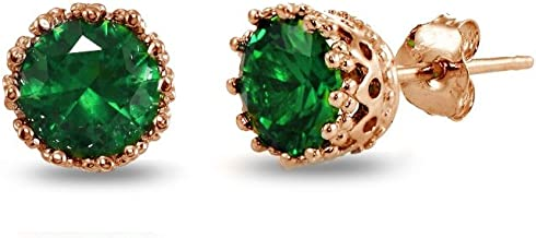 Best emerald and gold stud earrings Reviews