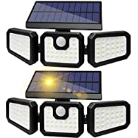 Sonata 70 LED IP65 Waterproof Solar Motion Sensor Light