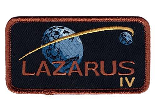 Titan One Europe - Lazarus Interstellar Endurance Patch Iron On Parche Termoadhesivo