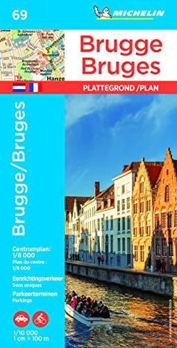 BRUGGE / BRUGES 19069 PLAN MICHELIN PLATTEGROND