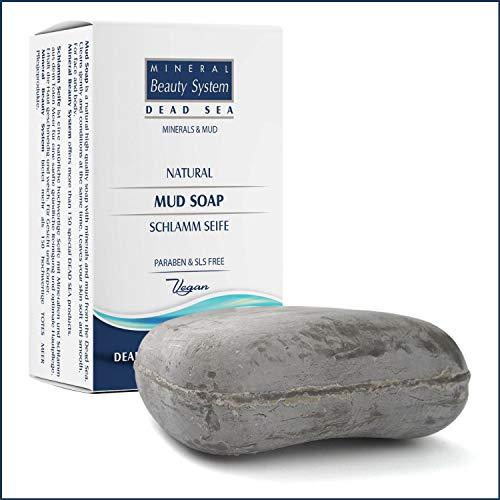 Mineral Beauty System Totes Meer Natürliche Antibakterielle Schlamm Seife, 125g