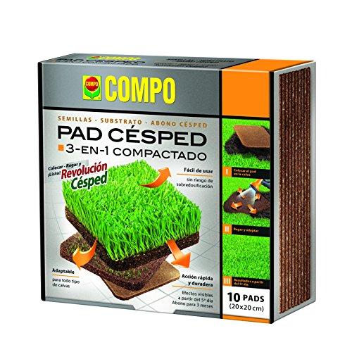 Compo 2532502011 Rasenkissen, 1er Pack (1 x 10 Stück)
