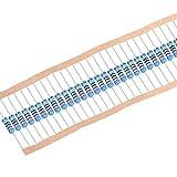 uxcell 金属膜抵抗器 MFレジスター 620Ω 2W 許容差1% 全長60mm 5カラーバンド 100枚入り