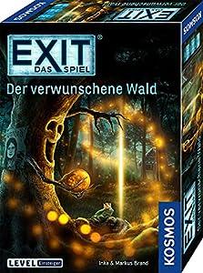 Aus der erfolgreichen Spielereihe EXIT - Das Spiel. Das Escape-Room-Spiel für zu Hause Escape-Room-Spiel im Level: Einsteiger 1-4 Spieler lösen im Team clevere Rätsel, um aus dem verwunschenen Wald zu entkommen Spiel für Erwachsene, Fans von Live Esc...