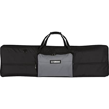 Yamaha Artiste Series Keyboard Bag for 76-Note Keyboards, Black/Gray