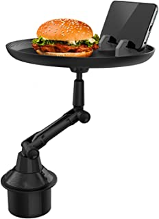 Bilplåtfack Kopphållare Fack Justerbart bilfackbord Bilmatbord Njut av din måltid och håll dig organiserad med 8 tums yta,...