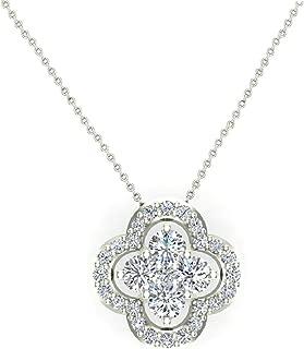 Best flower design necklace in gold Reviews