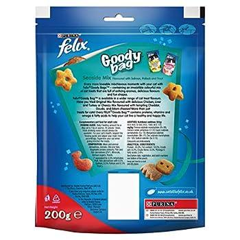 Felix Goody Bag Seaside Mix Friandises pour Chat, Lot de 5