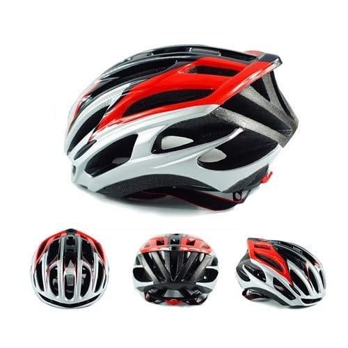 Casco Bicicleta HAOAYOU Casco de Bicicleta para Adultos Casco de Ciclismo de...