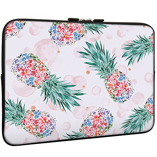 Pineapple Laptop13.3 Inch Sleeve Bag, Water Repellent Neoprene Light Weight Computer Skin Bag, Notebook Carrying Case Cover Bags