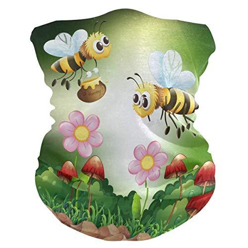 12-in-1 hoofdband, bij met hoofdband voor honing, magische bivakmuts, magische bivakmuts, licht, voor het klimmen van races, sporten