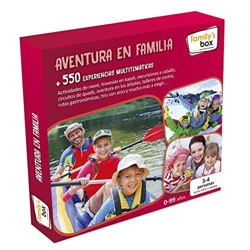 Cofre DE EXPERIENCIAS Aventura EN Familia - Más de 600 experiencias multitemáticas en Toda España