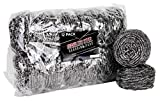brheez Stainless Steel Scouring Pads - Heavy Duty Industrial & Commercial...