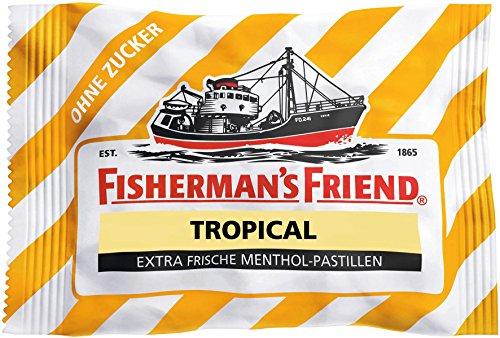Fisherman's Friend - Tropical Pastillen zuckerfrei - 25g