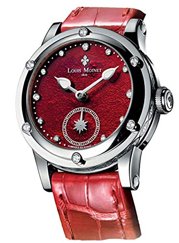 Louis Moinet Limited Edition Red Sky-Dance Luxury Ladies 36mm Watch