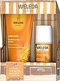 WELEDA Sanddorn Strandkorb Set, Naturkosmetik Geschenkset mit Sanddorn Vitalisierungsdusche und...