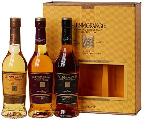 Glenmorangie Whisky 'Explorer' Trio Gift Pack (3 x 35cl Bottles)