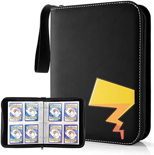 Porte-cartes à collectionner pour cartes Pokemon, pochettes pour cartes Pokémon compatibles avec Pokemon-Trading-Cards Yu-Gi-Oh Skylanders