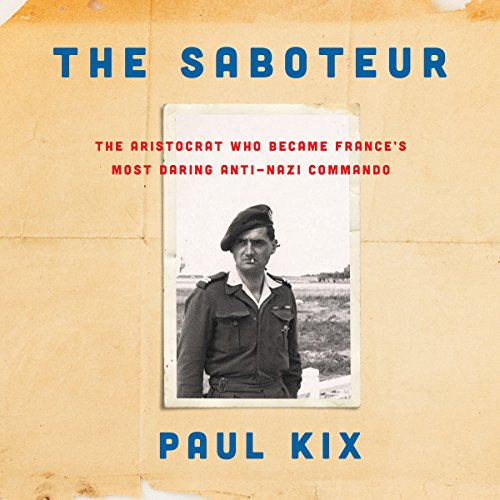 The Saboteur audiobook cover art