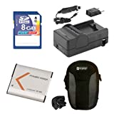 Sony DSC-QX30 Digital Camera Accessory Kit Includes: SDNPBN1 Battery, SDM-1515 Charger, KSD48GB Memory Card, SDC-22 Case