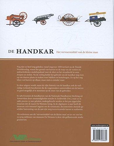 De Handkar - het vervoermiddel van de kleine man: Een verkenning in woord en beeld