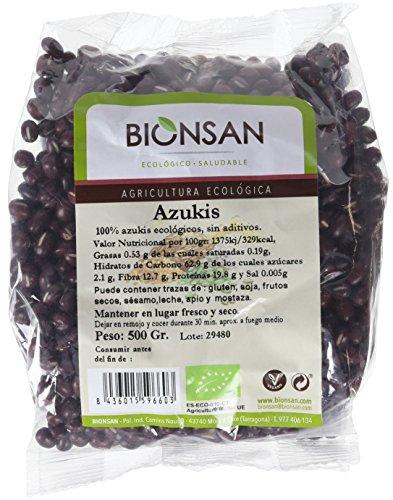 Bionsan Azukis Ecológicos - 6 Bolsas de 500 gr - Total: 3000 gr