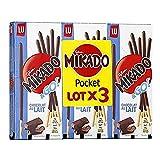 Mikado Biscuit Nappés de Chocolat au Lait 39 g X Lot de 3