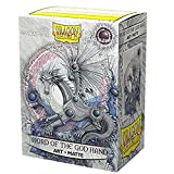 Arcane Tinmen Dragon Shield Sleeves - Matte Art 100 CT - MGT Card Sleeves - Compatible with Magic The Gathering Card Sleeves Pokémon and Other Card Games - Limited Edition: Word of The God Hand