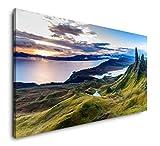 Paul Sinus Art Schottland Panorama 120x 60cm Panorama