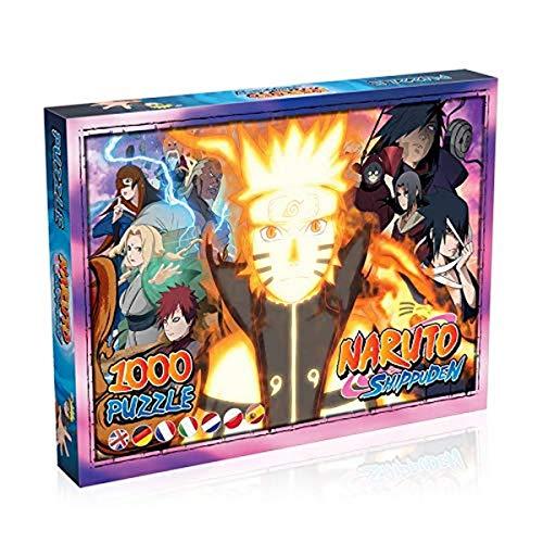 Winning Moves- Puzzle Naruto Shippuden-1000 Teile, WM00139-ML1-6
