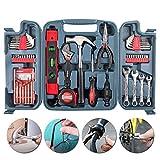 HWSDMW Home Werkzeuge Set 53-teilig Toolbox Set Home Repair Kit Car Multifunktions-Hardware Toolbox Präzisionswerkzeuge Wit Handwerkzeug-Set