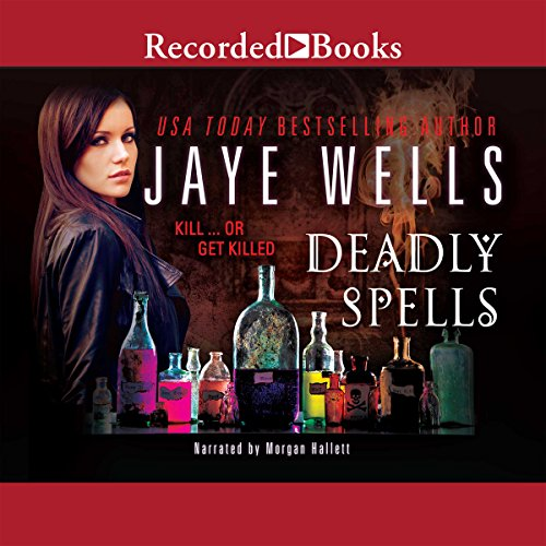 Deadly Spells audiobook cover art
