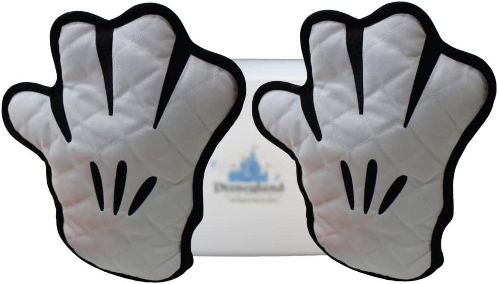 Disney Parks Mickey Glove Oven Mitt 2 pc Set - Exclusive & Limited Availability