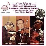 Piano trios, piano quartet, horn trio by Gilels, Kogan, Rostropovich - mil Gilels