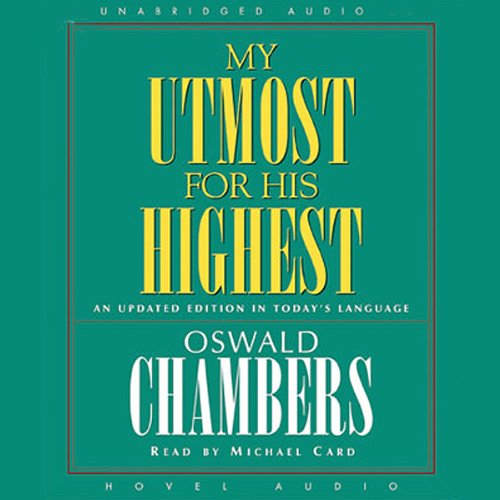 My Utmost for His Highest audiobook cover art