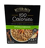 Better Oats Instant Oatmeal Apples & Cinnamon 9.8 ounce ( Pack of 3 )