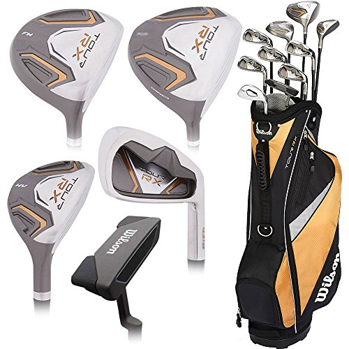 Wilson Tour Rx Senior Package Set Mens Senior Right Hand mens golf complete sets