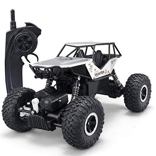 WGFGXQ RC Bigfoot Monster Truck 4WD High Speed All Terrain RC Cars para niños 2.4Ghz Off-Road Rock Vehicle 1:14 Radio Remote Control Racing Car Collision Racing Car para Adultos