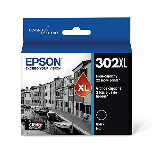 EPSON T302 Claria Premium Ink High Capacity (T302XL020-S) for select Epson Expression Premium Printers