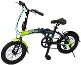 Mercurio Bicicleta Folding R16 Plegable, para Hombre