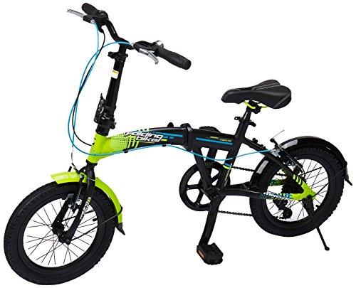 Mercurio Bicicleta Folding R16 Plegable, para Homb