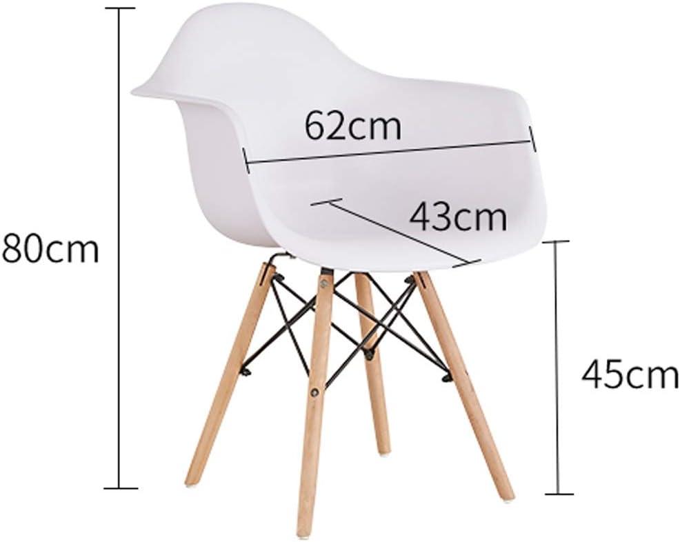 SLL- Chaise de Salle, Chaise de Bureau Simple, créative Dossier, Chaise Loisirs, Maison Adulte Chaise de Salle Moderne (Color : Green) Red